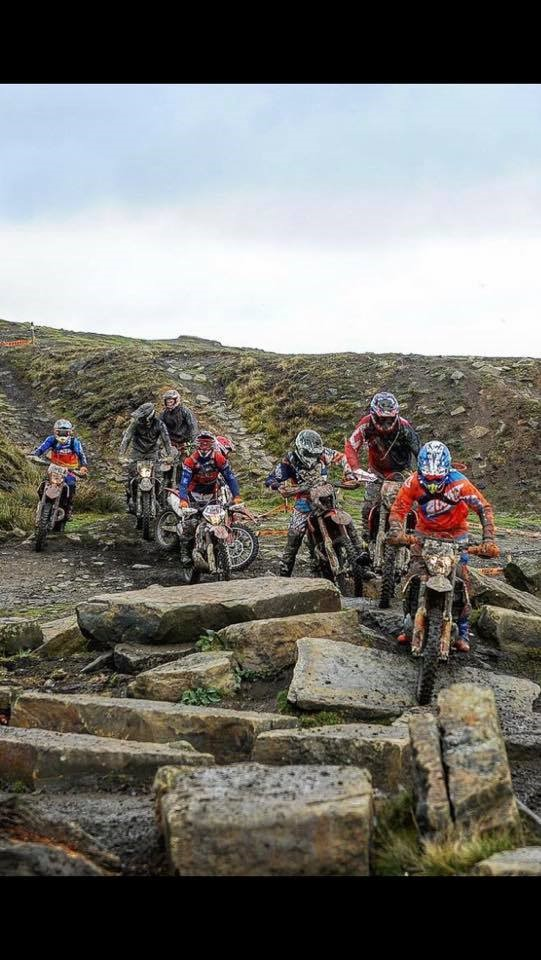 image of children on dirt bikes for Cowm Leisure Off Road Centre page on Visit Rossendale website