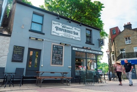 Image of the Temperance Bar for a page on the visit Rossendale website on the food and drink in Rossendale