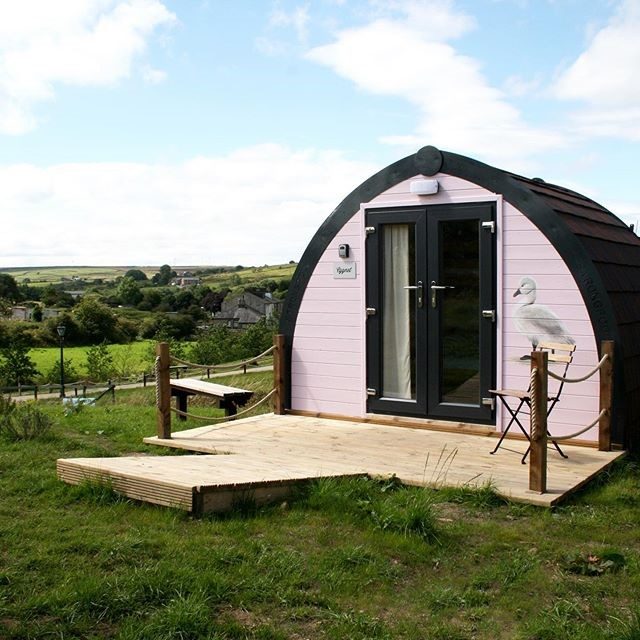 Image of glamping pod at the Rossendale Holiday Cottagesfor accommodation in Rossendale page on Visit Rossendale website