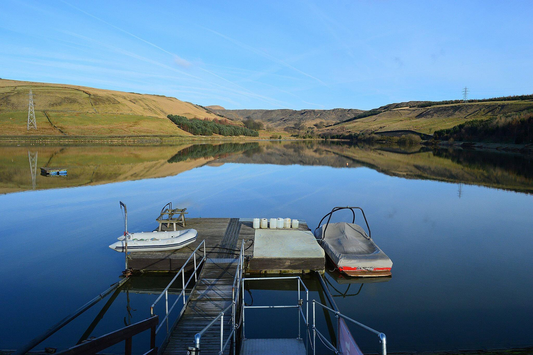 Image of a jetty enjoyed when walking in Rossendale for Visit Rossendale website
